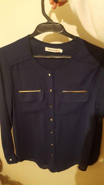 Camisa azul escura NOVA