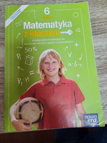 Książka do matematyki Kl.6 Matematyka z kluczem
