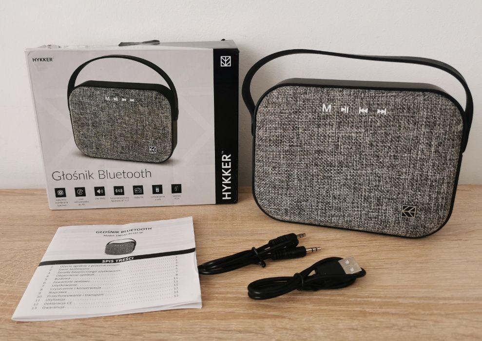 nowy gwarancja głośnik bezprzewodowy HYKKER USB SD Kruszewnia - image 1