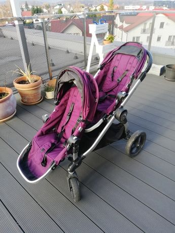 Wózek dziecięcy dla dwójki Baby Jogger City Select