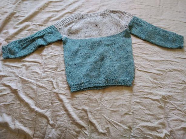 Кофта детская ручного вязания 86 размер