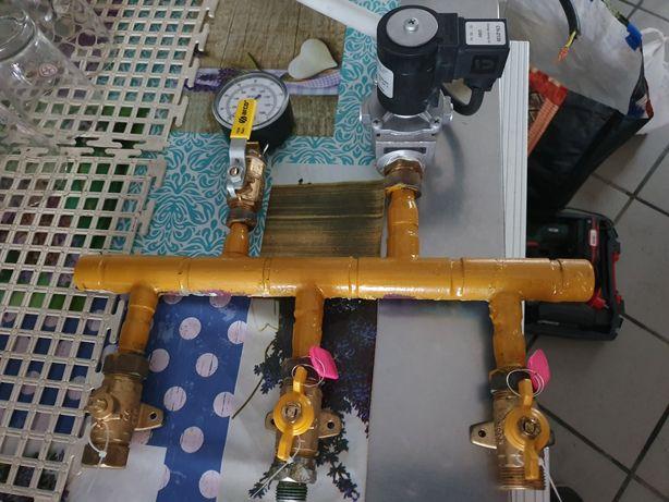 Gás instalação para exaustor ou hot