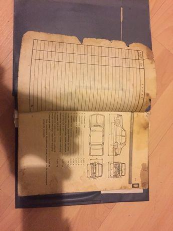 Książka serwisowa Dacia 1300