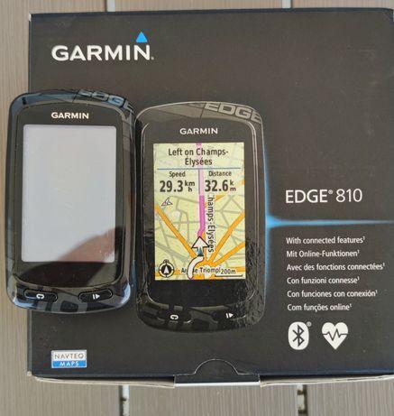 GPS Garmin Edge 810 (Caixa e documentos originais)