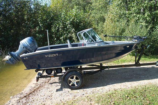 łódź aluminiowa ViZiON 470
