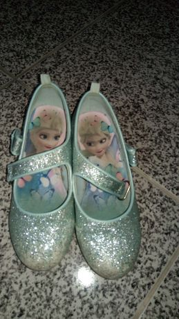 Sapatos princesa frozen 30