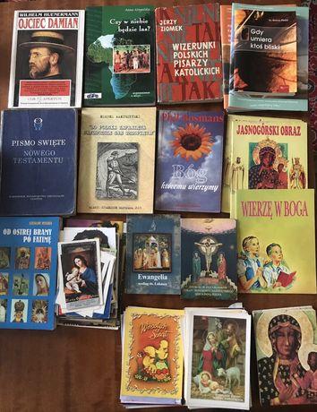 Książki katolickie, widokówki i obrazki, Pismo Święte, Ewangelia