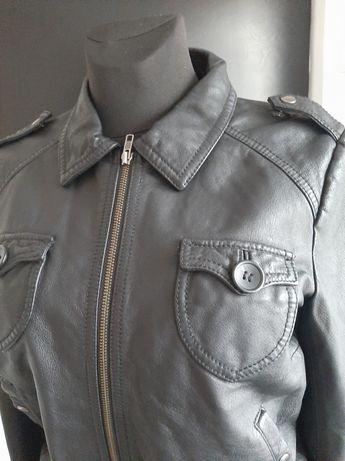 Skórzana,czarna kurtka rozmiar 42