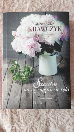 """,, Szczęście na wyciągnięcie ręki"""" Agnieszka Krawczyk"""
