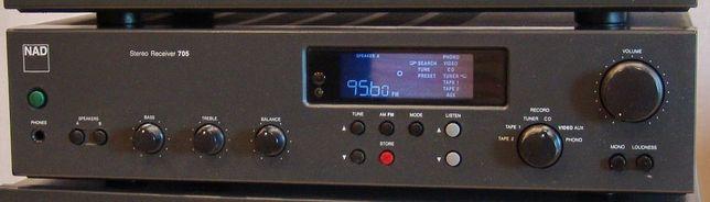 Усилитель с тюнером NAD 705 +ДУ. CD плеер NAD 5320. Замечательный звук