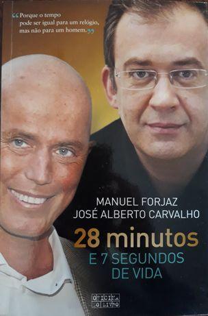 """Livro """"28 minutos e 7 segundos de vida"""""""