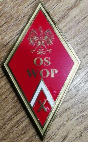 Pamiątkowa kopia Oficerska Szkoła Wojsk Ochrony Pogranicza OS WOP