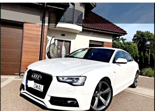 Auto do ślubu Audi A5 SPORTBACK