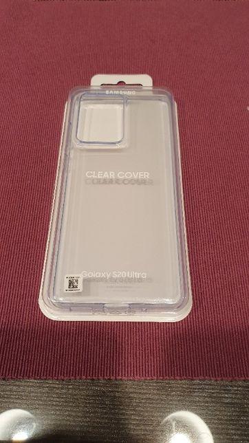 NOWE Etui SAMSUNG Clear Cover do Galaxy S20 Ultra EF-QG988TTEGEU