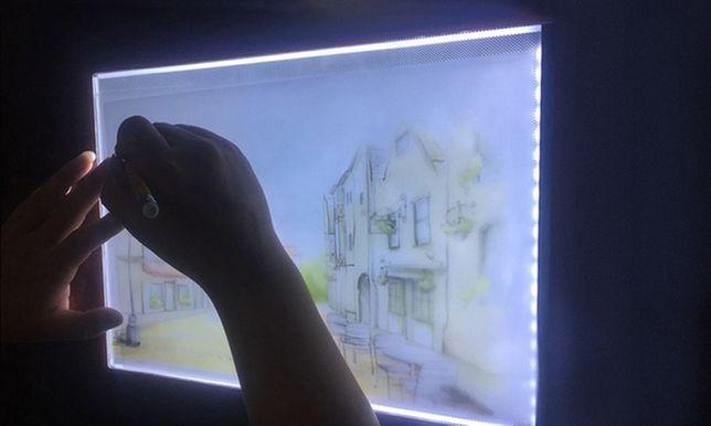 Lightbox do szkicowania tablet LED