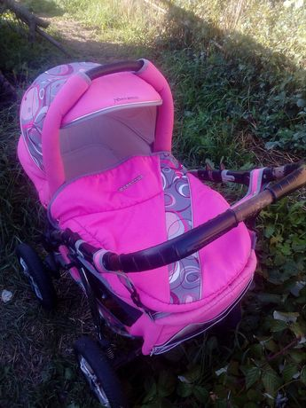 Детская коляска трансформер 2в1 Murano Bebetto!