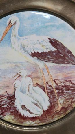 Obrazek ceramiczny angielska kolekcja Berendsohn AG edycja limitowana