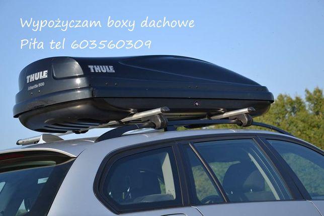 box dachowy thule