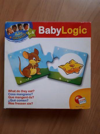 Baby logic Lisciani Giochi- puzzle 1-4 lata