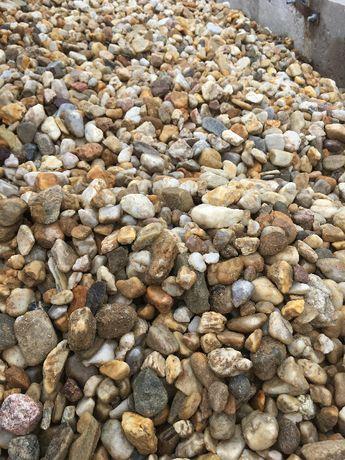 Otoczak Miodowy , żwir ogrodowy kwarcowy , kamień ozdobny , dostawa