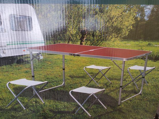 Стол розкладной для пикника, усилений  стол 4 стільці, стіл розкладний