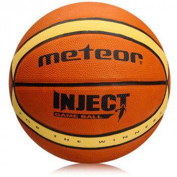 Качественный баскетбольный мяч Meteor Inject №7 Польша