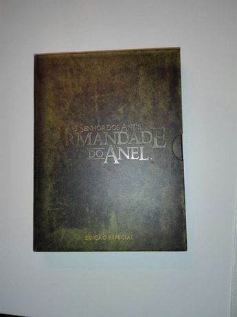 """DVD """"sr. Dos aneis - irmandade do anel"""" versao alargada e colecionador"""