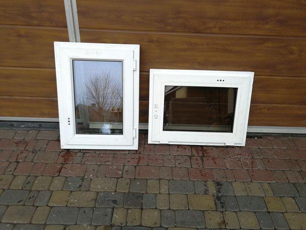 Okno PCV plastikowe 60X80