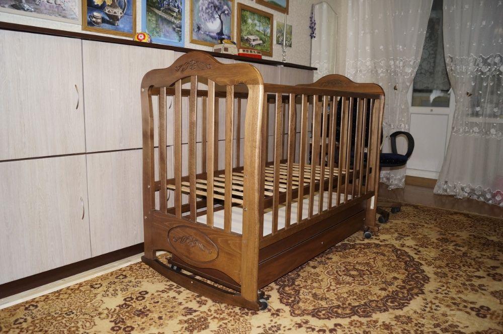 Детская кроватка. Без торга.Бесплатная доставка по городу. Винница - изображение 1