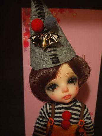 Zestaw bjd 1/8 lalka + strój+wig+ makeup