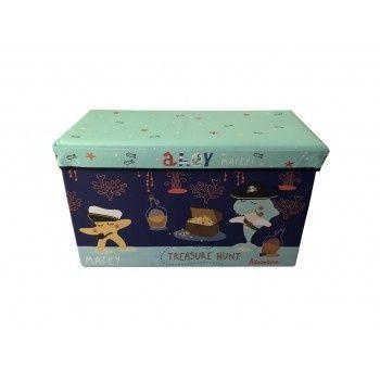 Ящик-пуф для іграшок Baby Comfort від  bebishop.com.ua/ua