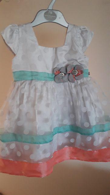 Sukienka wyjściowa dla dziewczynki Święta Peppermint 92-98