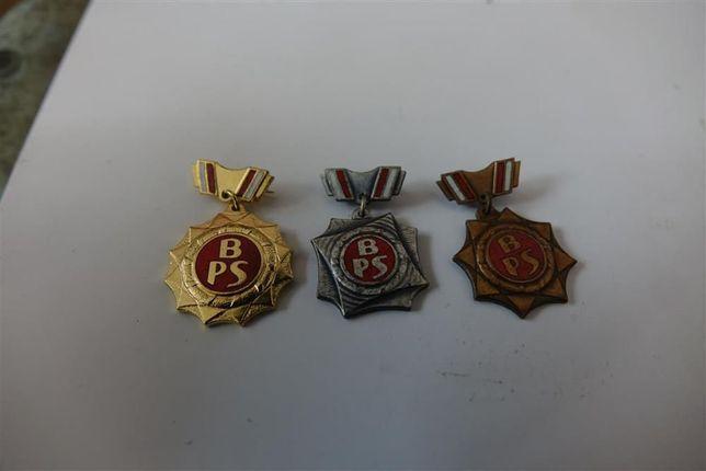 Odznaka Brygady Pracy Socjalistycznej. Komplet. II stopnie odznaki
