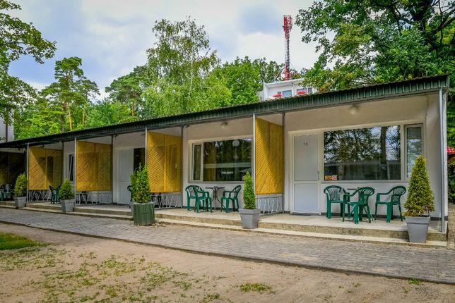 Domki polanbud - w centrum Skorzęcina za najniższą cenę