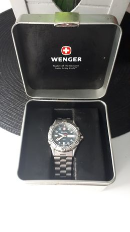 Wenger Swiss Made 200m - PIĘKNY !!