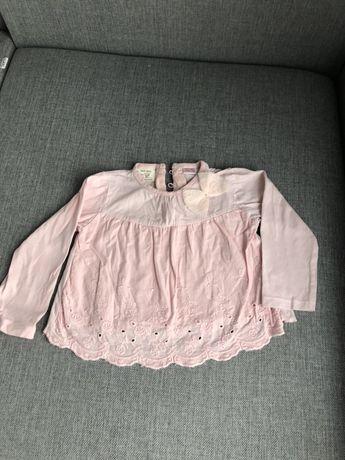 Bluzka zara r. 80 dla dziewczynki