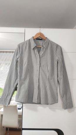 Szara koszula w paski CARRY rozmiar L