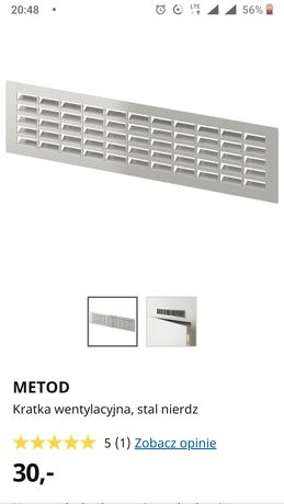 Ikea metod kratka wentylacyjna nowa