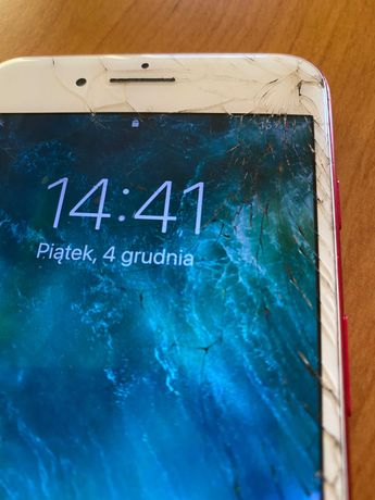 iPhone 7 Plus, uszkodzony ekran