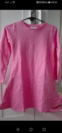 Young style nowa ciepła sukienka święta świąteczna 146