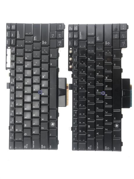 Клавіатура Dell Latitude E6400, E6410, E6500, E6510 P\N 0HT514 30015