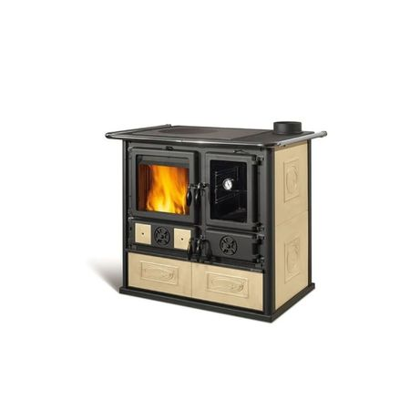 Piec kuchenny kuchnia wolnostojąca - Rosa Reverse 8,1 kW, La Nordica