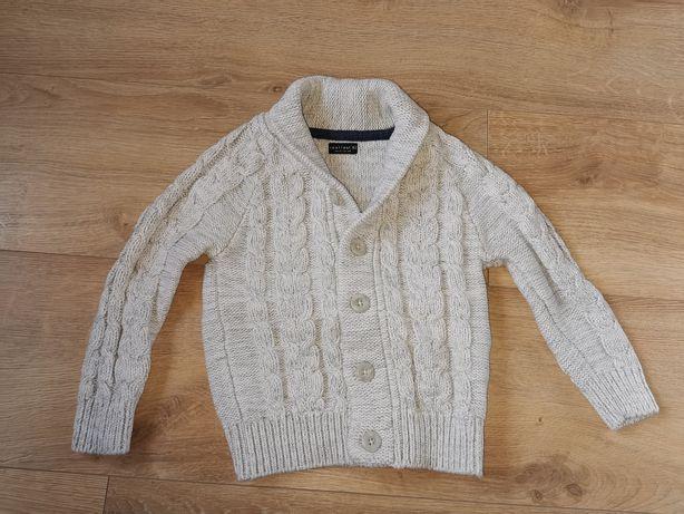 Rozpinany sweter NEXT rozm. 3-4l 104cm