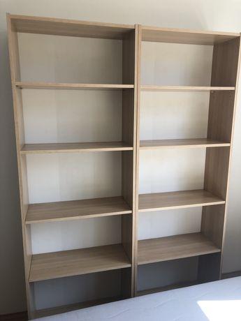 OKAZJA Regał na książki IKEA - 2 segmenty, stan bardzo dobry