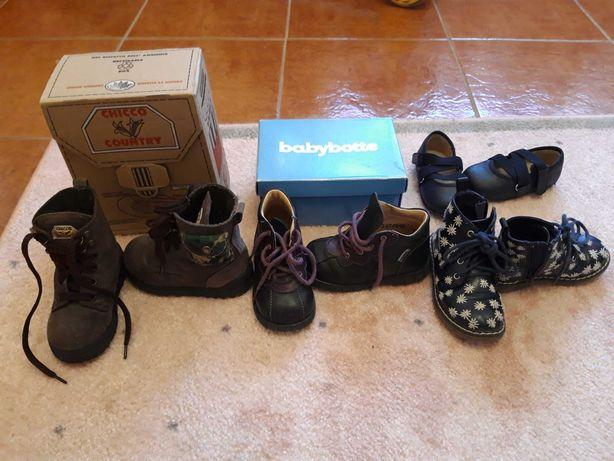 Chicco, e outras marcas Lote calçado menina tm.22