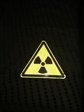 Знак Радиация  большой