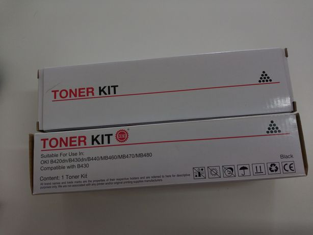 Toner OKI B420dn/ B430/B440/B460/B470/B480