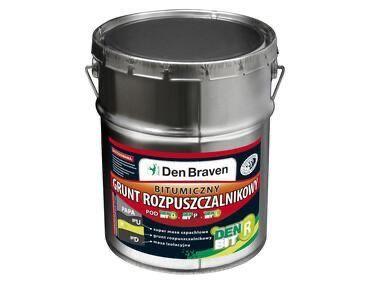 Grunt rozpuszczalnikowy, bitumiczny 19kg DEN BRAVEN