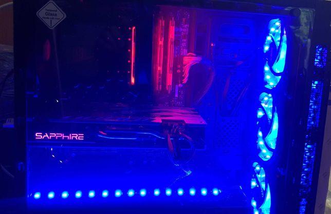 Gamingowy Ryzen 5 RX580 Nitro+ 16GB SSD M2+HDD