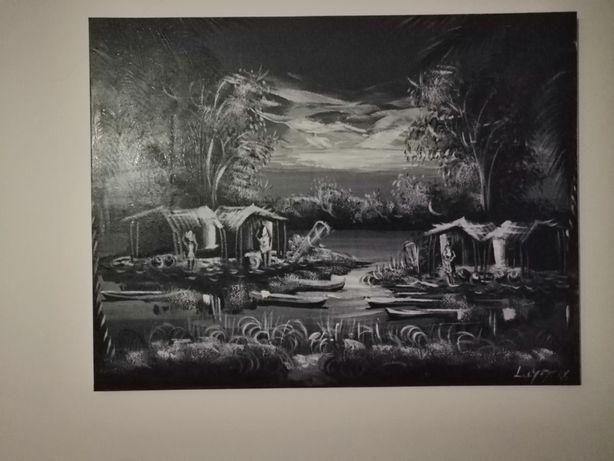 Quadro pintado à mão | Obra de Arte